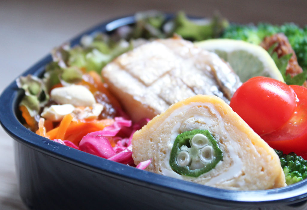 鯖の塩焼きが主役のおこさま弁当:幼稚園のお弁当記録