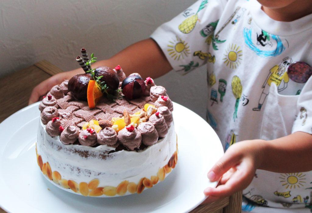 3歳 - 子供の誕生日の献立・メニュー - 手作りごはんとケーキ
