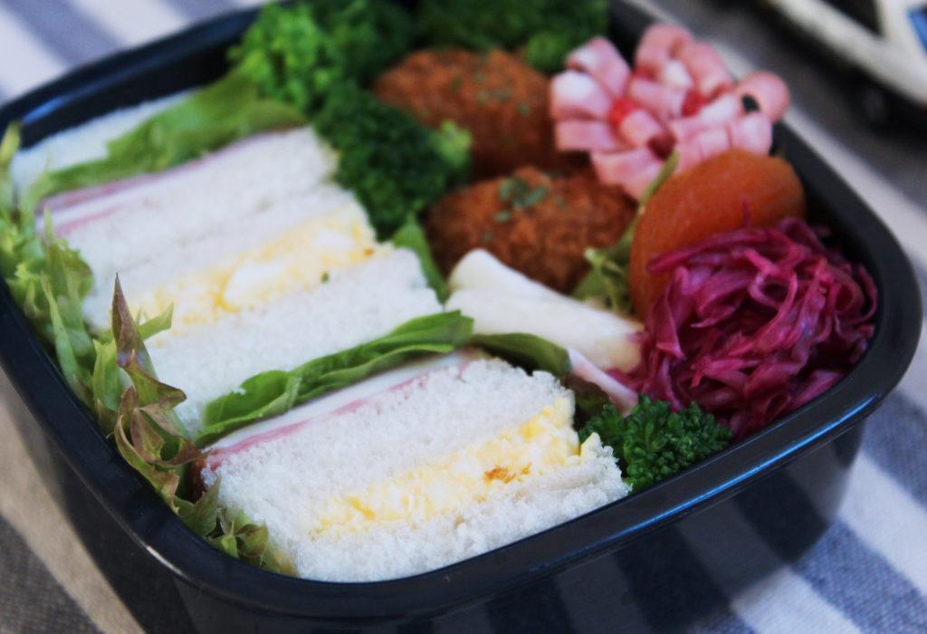トミカ型 - サンドウィッチ - tomica弁当の詰め方と盛り付けのコツ - 幼稚園年少さん